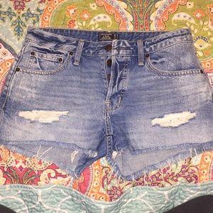 Super cute Abercrombie shorts size 0